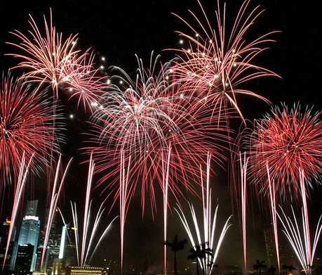 Public fireworks displays will be on Maui and Lanai at midnight New Year's Eve but not on Molokai.