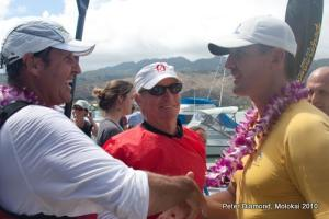 Clint Robinson from Australia wins Surfski Championship