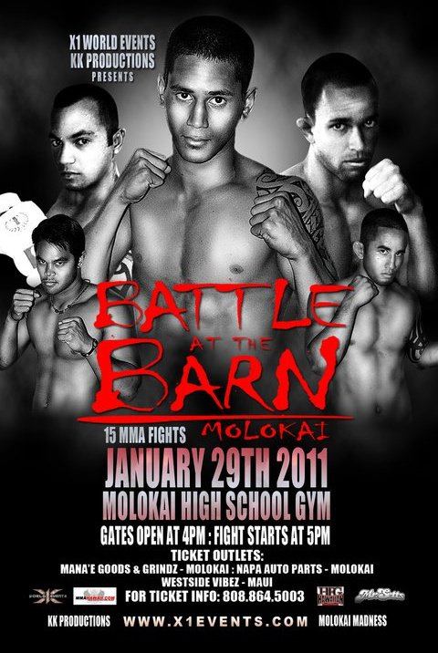 'Battle at the Barn' MMA fight Jan. 29 at high school gym