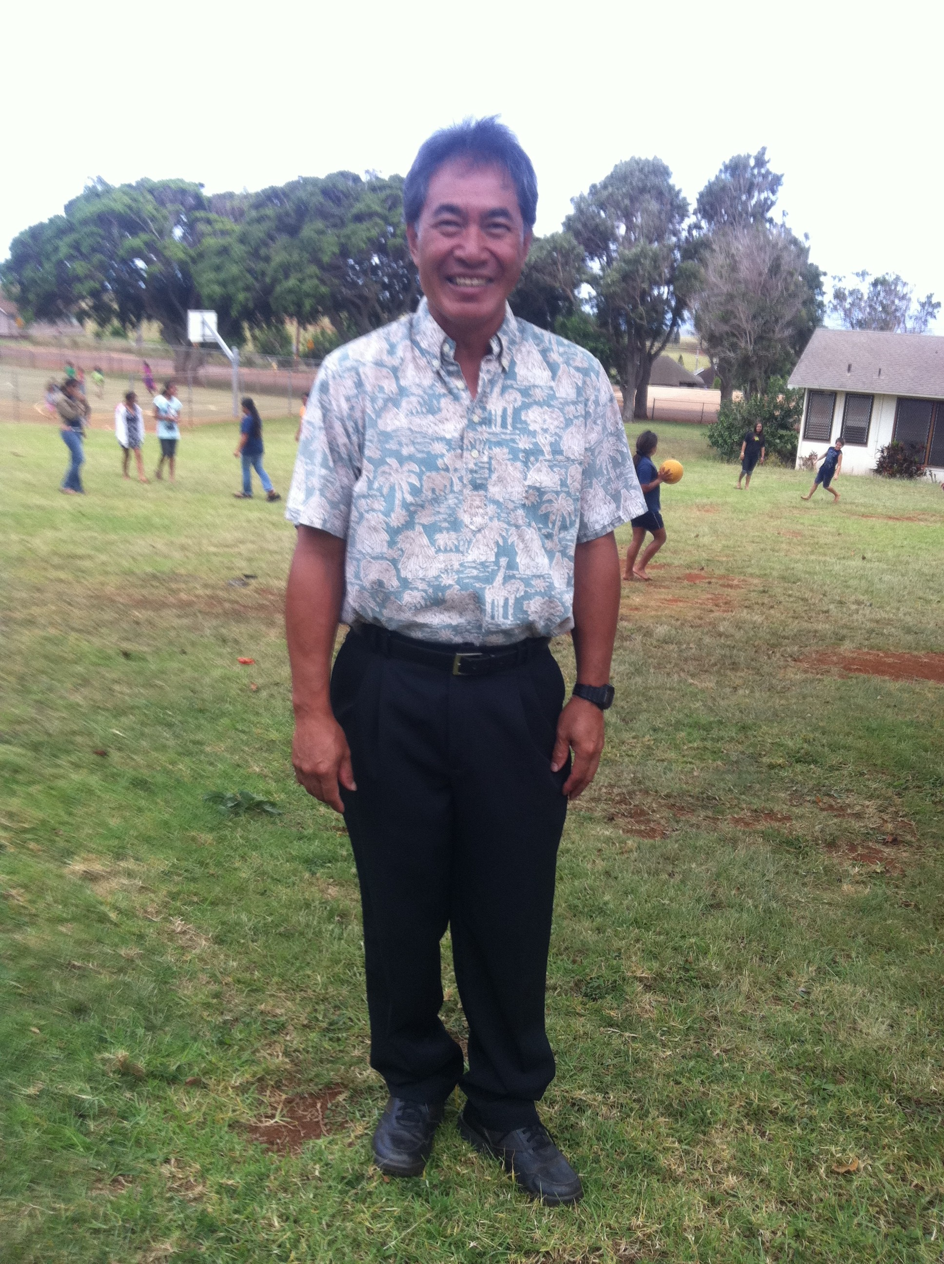 Maunaloa principal selected as award finalist