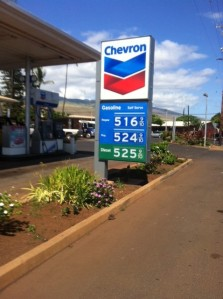 Gas hits highest price ever on Molokai