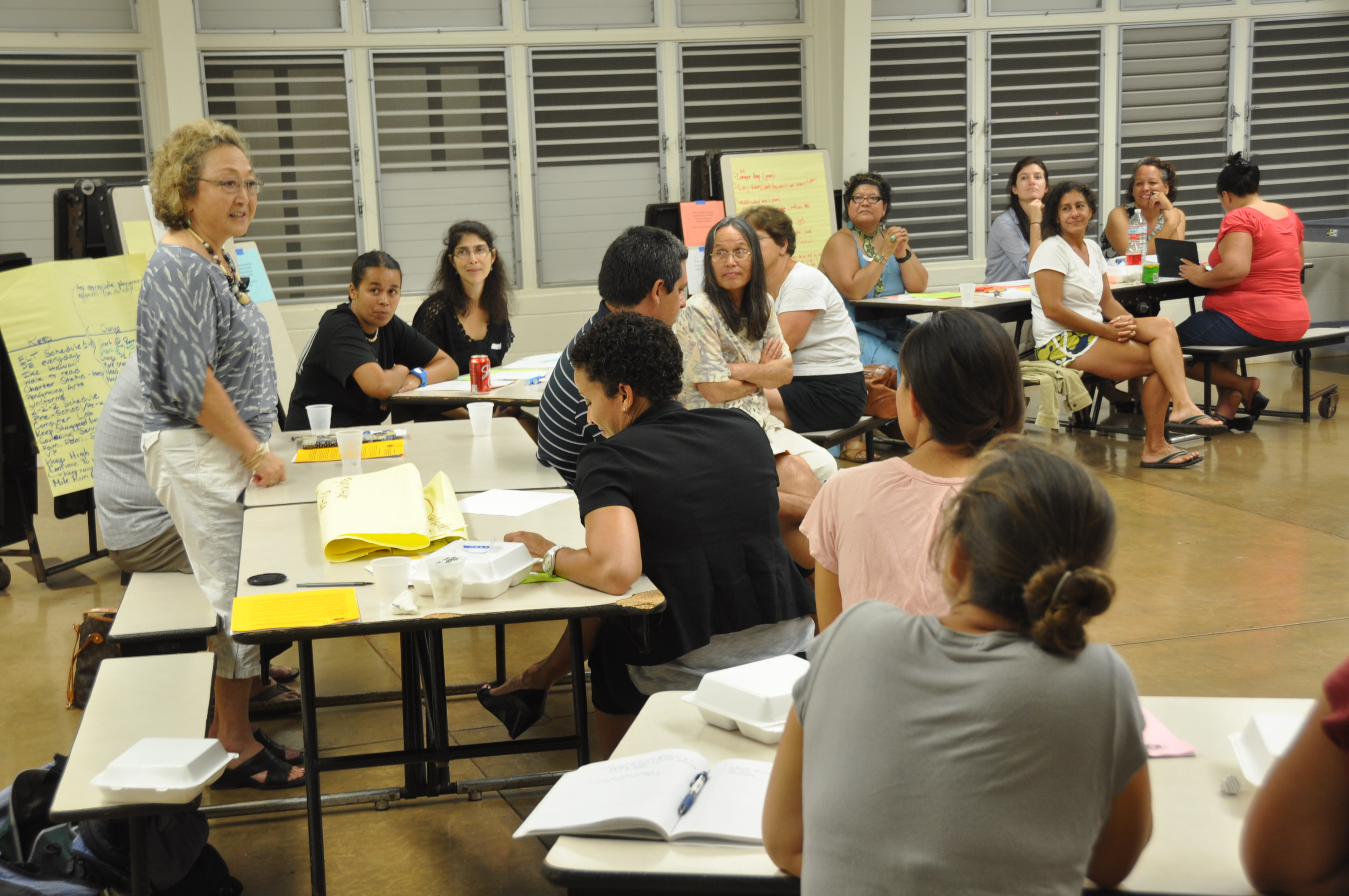 Nurturing and preparing our keiki for the 21st Century: Kualapu'u begins a new strategic plan