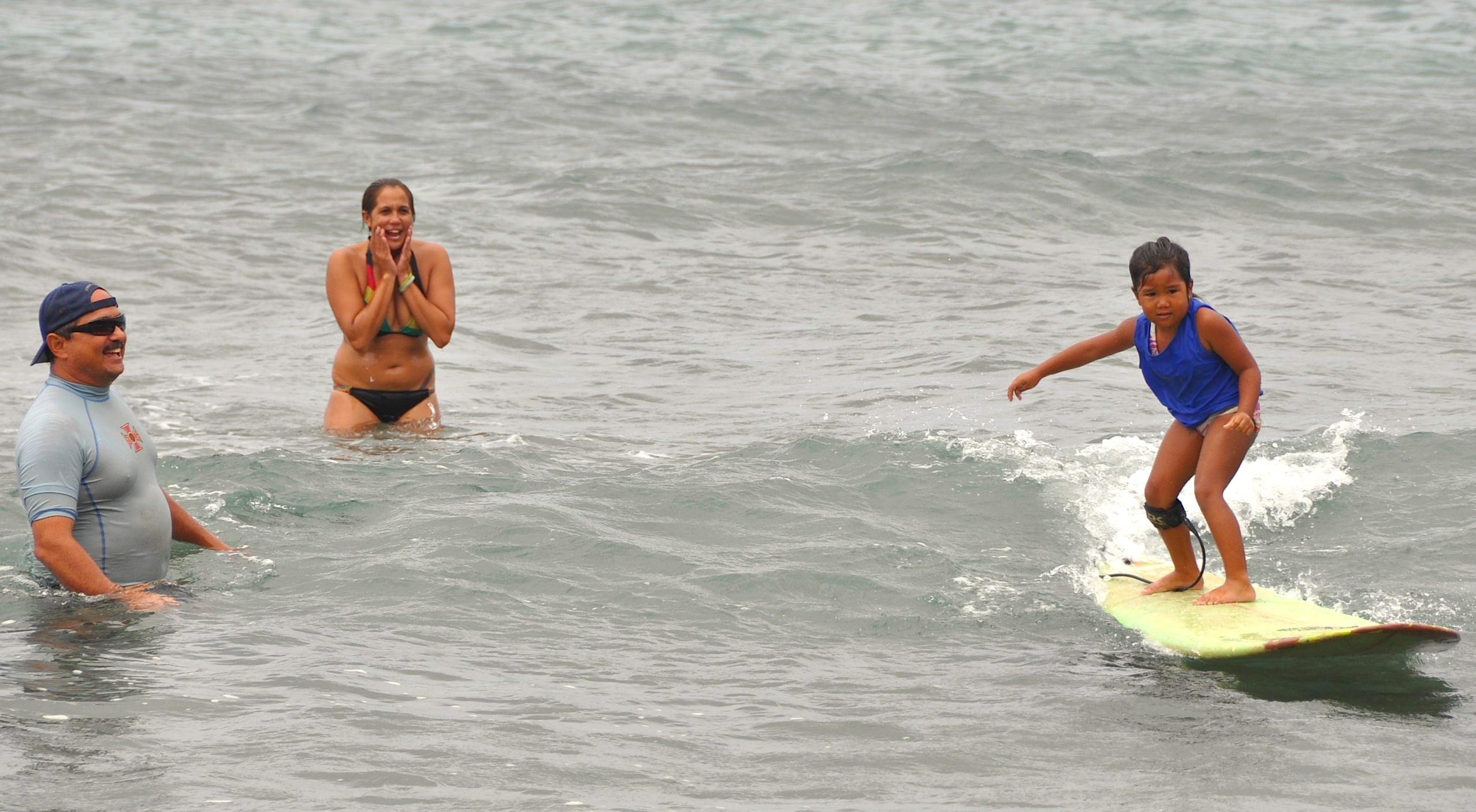 Ko Molokai Keiki O Ke Kai Summer Surf meet holds second event