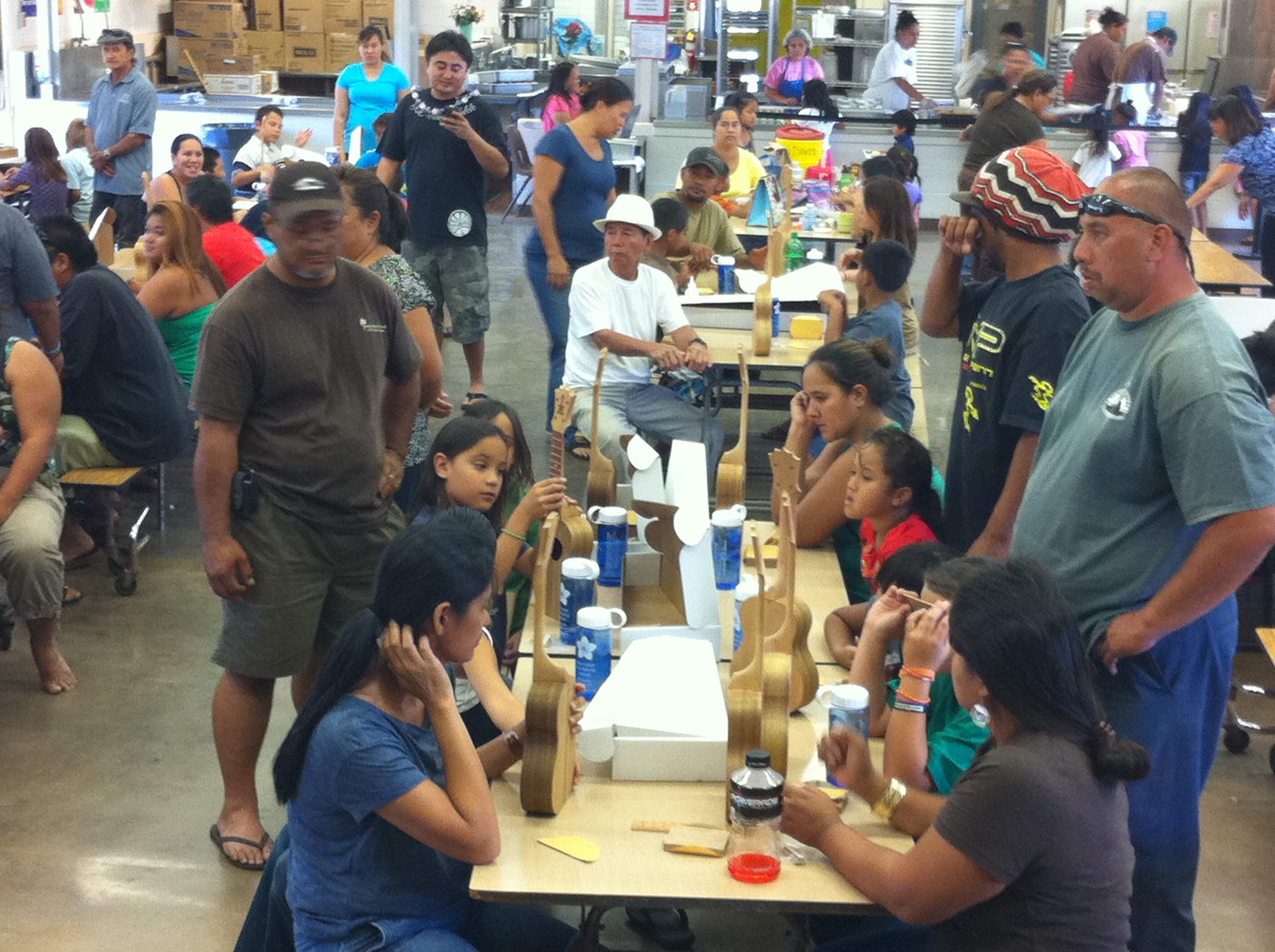 Seven years and 300 ukuleles later, KoAloha continues to support local youth