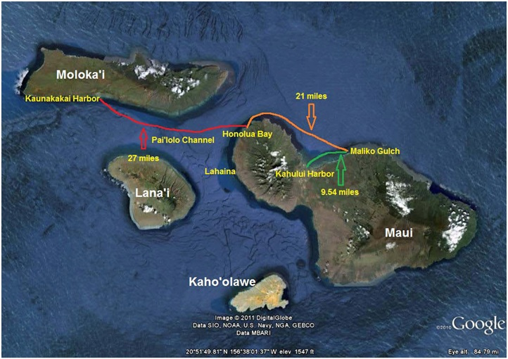 Triple Crown of Stand-Up Paddle finishes in Kaunakakai Saturday