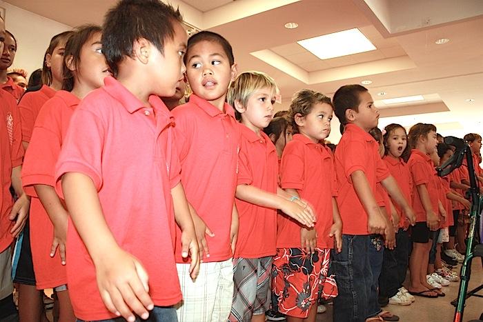 Hawaiian language students observe Queen Liliʻuokalani's birthday