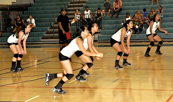 St. Francis ends Molokai's run to repeat as state volleyball champions