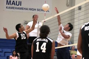 Boys volleyball team tied for top spot in MIL