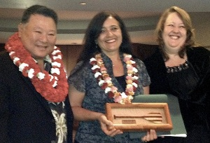 Kumu Farms receives Mayor's Small Business Award