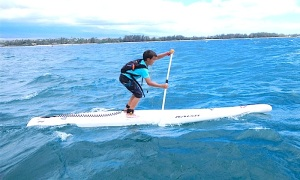 Just one more race: Mawaes nominated for SUP Grom of the Year award