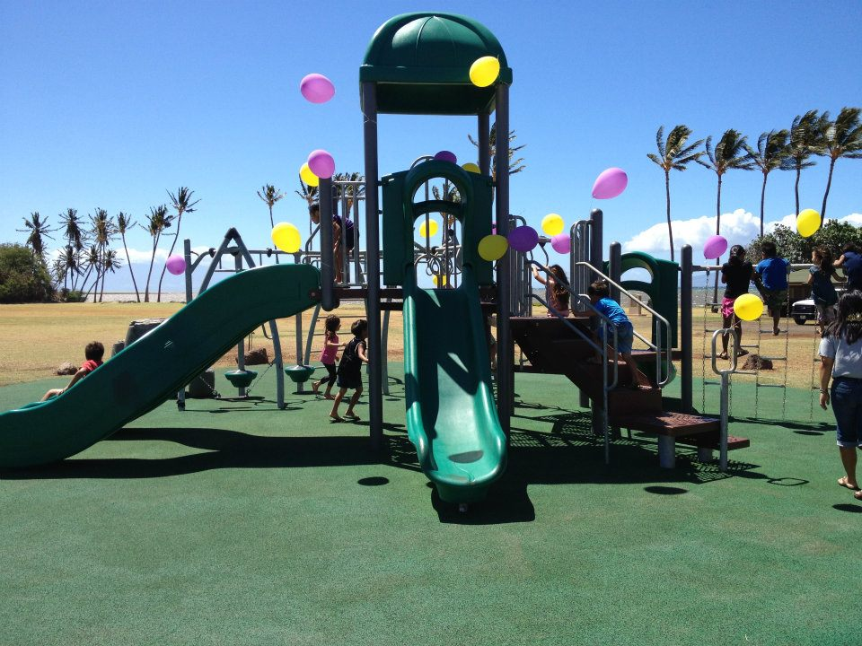 New One Ali'i playground opens yesterday with blessing