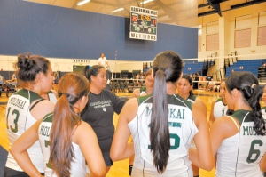 Volleyball girls face top talent at Maui tournament