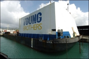 Young Brothers to sail smaller barge to Molokai during two-month maintenance program