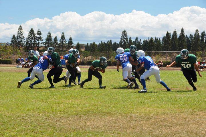 Seabury tops Molokai in first-ever regulation eight-man football game in Hawaii
