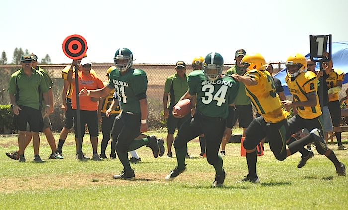 Imua football! Fans witness blowout win over Hana in first official game on Molokai in over 50 years