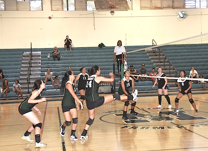 Undefeated start puts volleyball girls atop the MIL