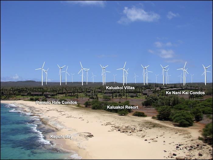 I Aloha Molokai 'mahalo' for show of unity against 'Big Wind' and for alternative energy solutions