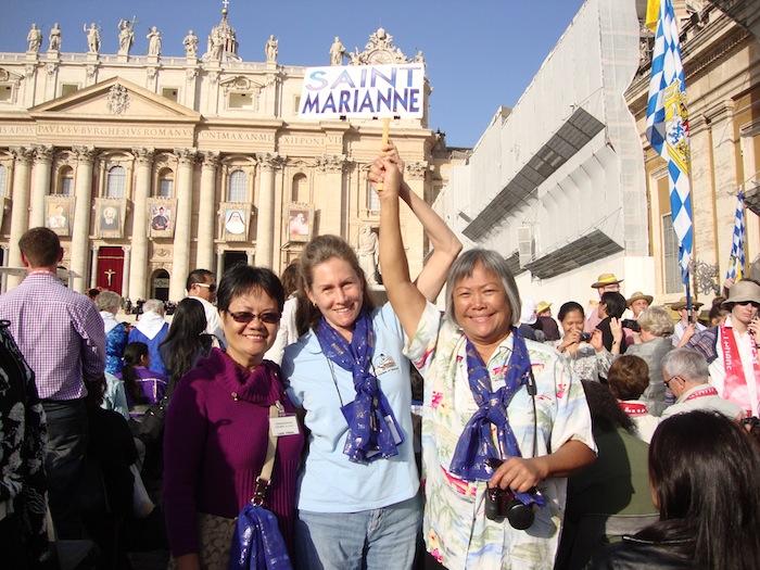 Canonization of Saint Marianne inspires Molokai witness