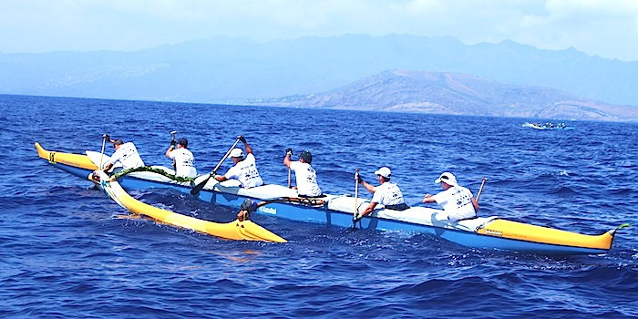 Special Forces team paddles in Molokai Hoe to a victory for Wounded Warriors Project