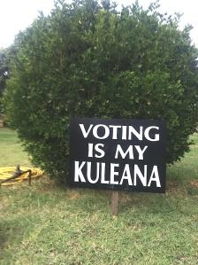 Opinion: Voting is my kuleana