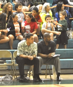 UH Assistant Basketball Coach Brandyn Akana returned home this weekend as his Warriors defeated Chaminade.