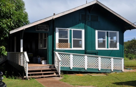 The Alu Like Native Hawaiian library in Hoolehua will be the site of today's open house and event.