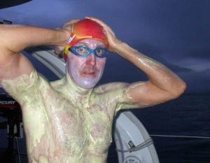 Record set in swimming Kaiwi Channel